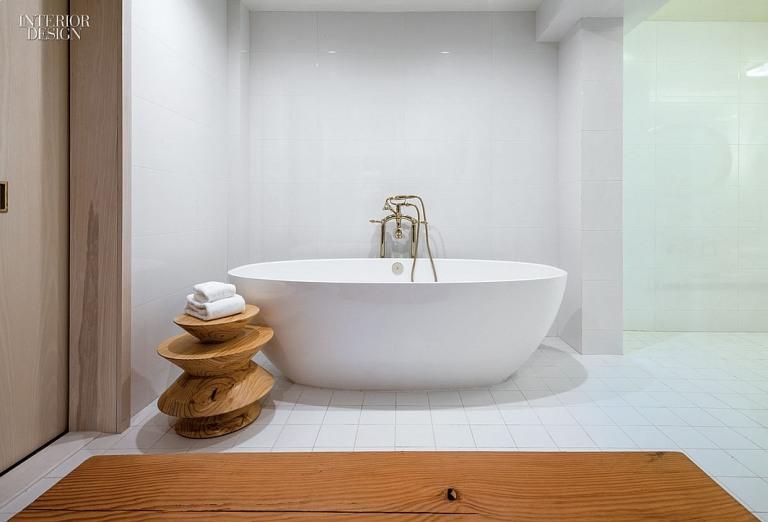 Amenajare baie minimalista de lux