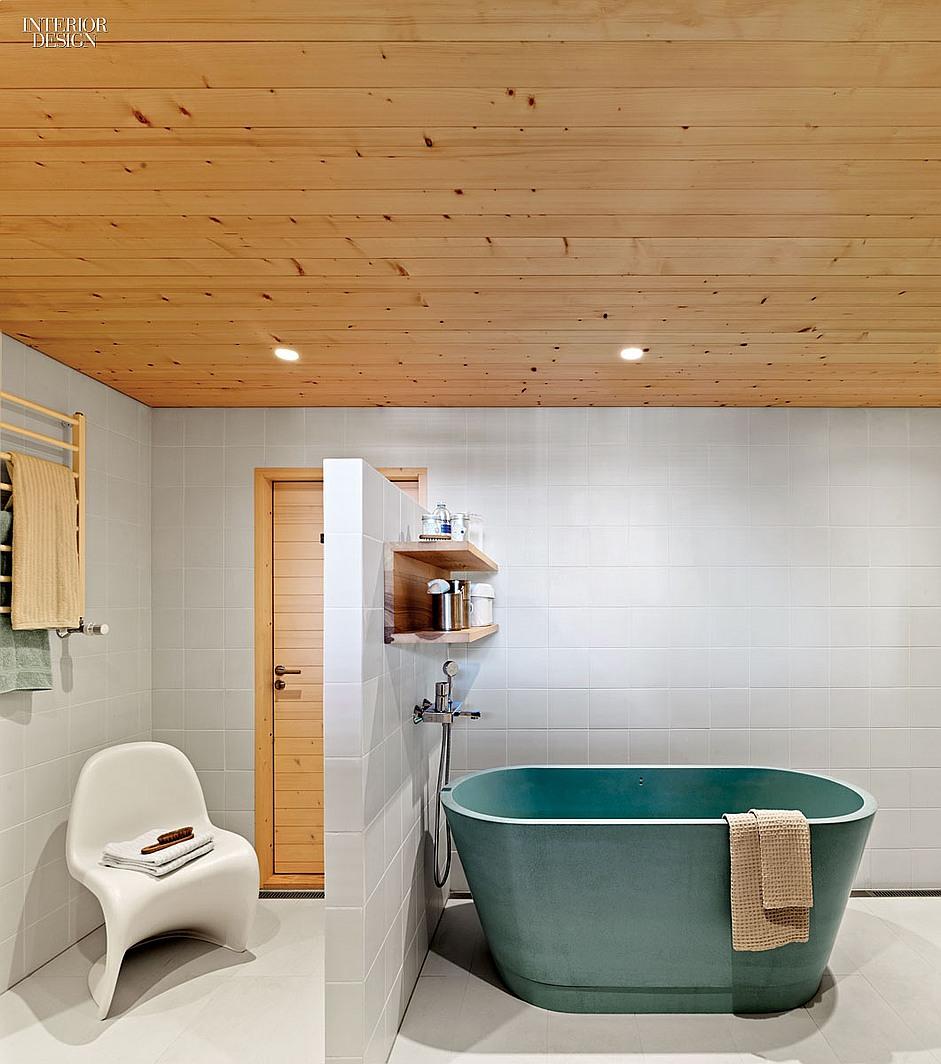 Simplitate si design industrial amenajare baie