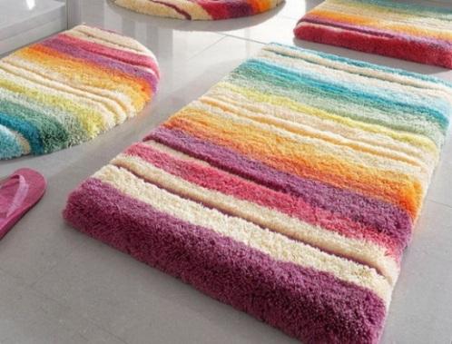 Covorase baie multicolore