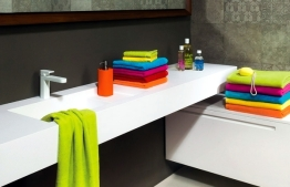 Prosoape colorate pentru baie