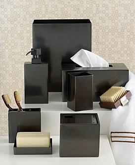 Set accesorii baie culoare neagra