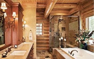 baie rustica lemn