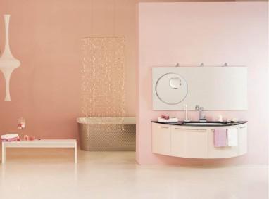 Baie feminina roz pal