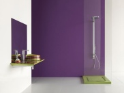 minimalist-violet-bathroom