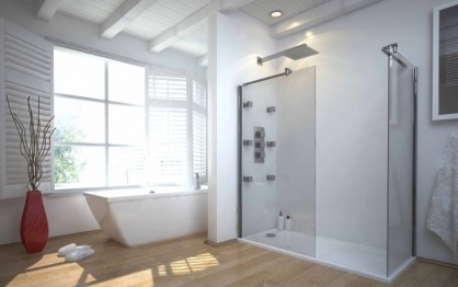 interior-large-glass-shower-and-white-bathtub-on-brown-wooden-floor-connected-by-glass-window-adorable-idea-of-open-shower-bathroom-design-for-you-718x451