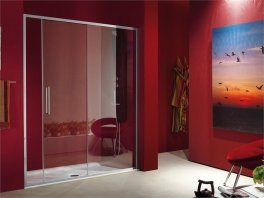 red-glass-shower-cabin-with-sliding-door-2