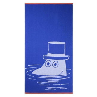 Prosop-de-baie-MOOMIN-albastru-70x140