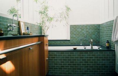 Baia, oaza de verdeață - Decorațiuni cu bambus pentru baie