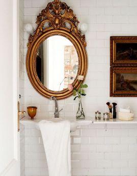 oglinda-baie-rama-bronz-vintage