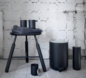 Set accesorii bae design nordic negru
