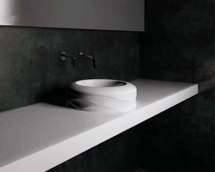 KIRA by SPATIO - Lavoare baie din marmura compozit