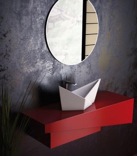 OLIMPIA by SPATIO - Lavoare baie din marmura compozit