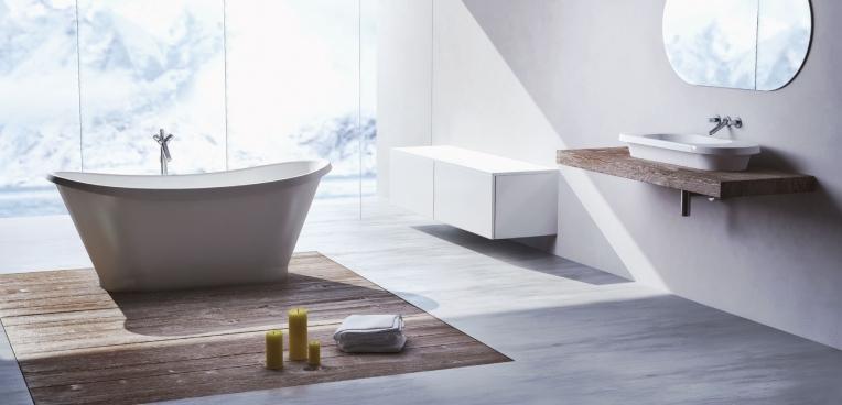 Lavoar baie marmura compozit PAMELA by SPATIO