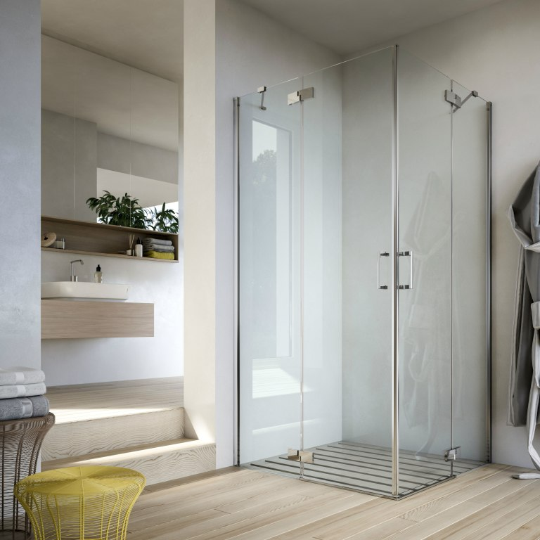 Cabină de duș cu uși batante Soho MC Glass 1989