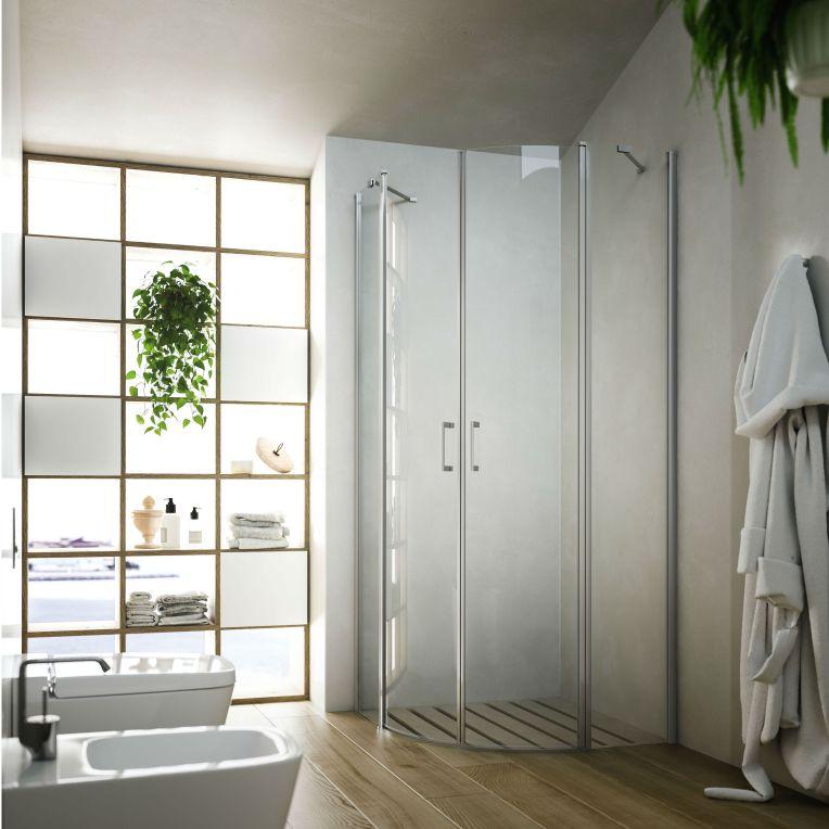 Cabină de duș semirotundă Glass Soho-MR