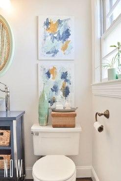 Arta tablouri in baie
